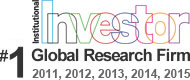 Ranked #1 Global Research Firm by Institutional Investor
