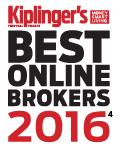Kiplinger's Best Online Brokers 2016