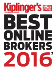 Kiplinger's Best Online Brokers 2016
