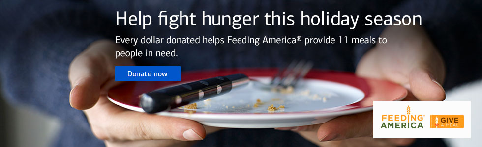 Help fight hunger this holiday season