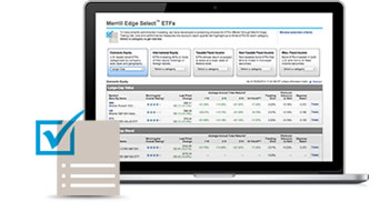 Proprietary ETF and Mutual Fund screens