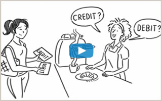Watch Credit and debit: Two very different cards