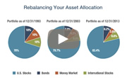 Watch 'Rebalancing your asset allocation'