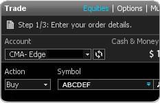 Merrill Edge MarketPro - Online Trading Platform