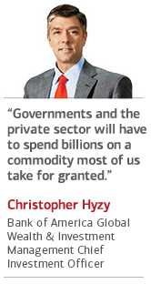 Chris Hyzy, Chief Investment Officer, Bank of America Global Wealth & Investment Management