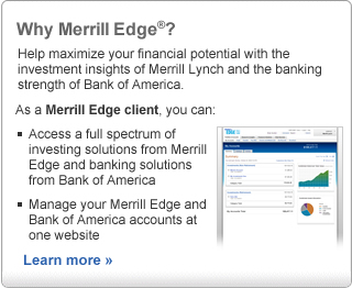 Why Merrill Edge?